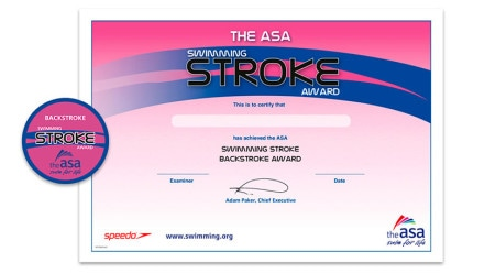 ASA Swimming Stroke Awards