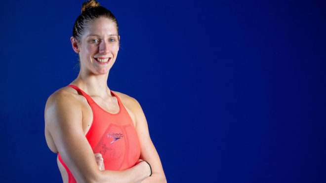Masters phenomenon Emma Gage in Swimming Times December 2015