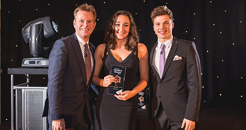 Water polo players recognised at ASA Aquatics Awards 2015