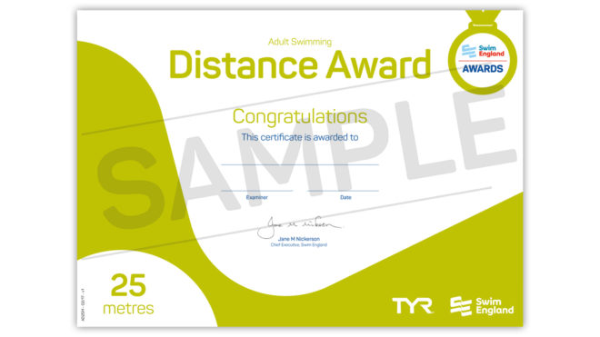 Adult Distance Awards