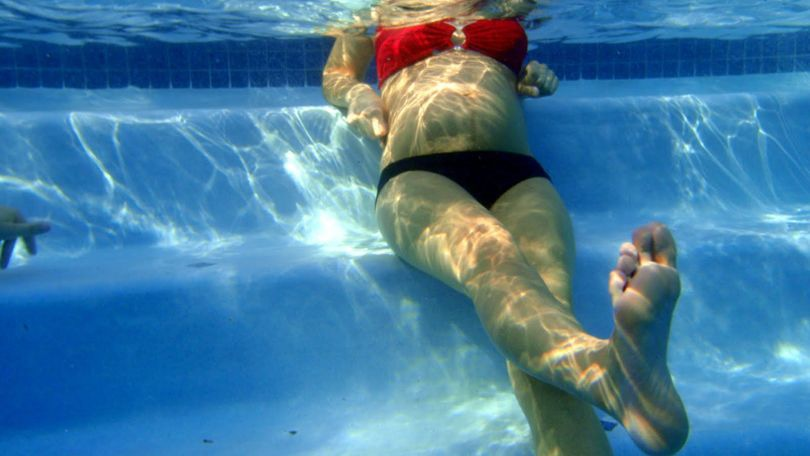 Swimming when pregnant