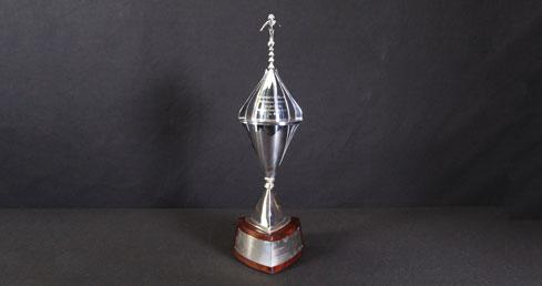 Brigadier Godfrey de Vere Welchman Trophy. ASA Trophy cabinet
