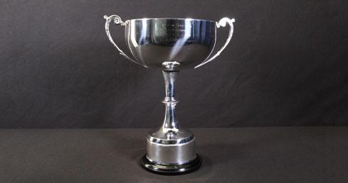 David Benny Cup. ASA trophy cabinet.