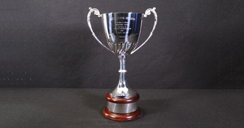 George Fryer Memorial Trophy. ASA Trophy cabinet