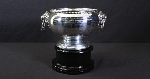 J T Hinks Trophy. ASA Trophy cabinet