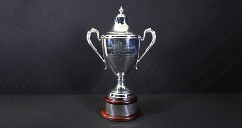 John G Hatfield Memorial Trophy. ASA Trophy cabinet