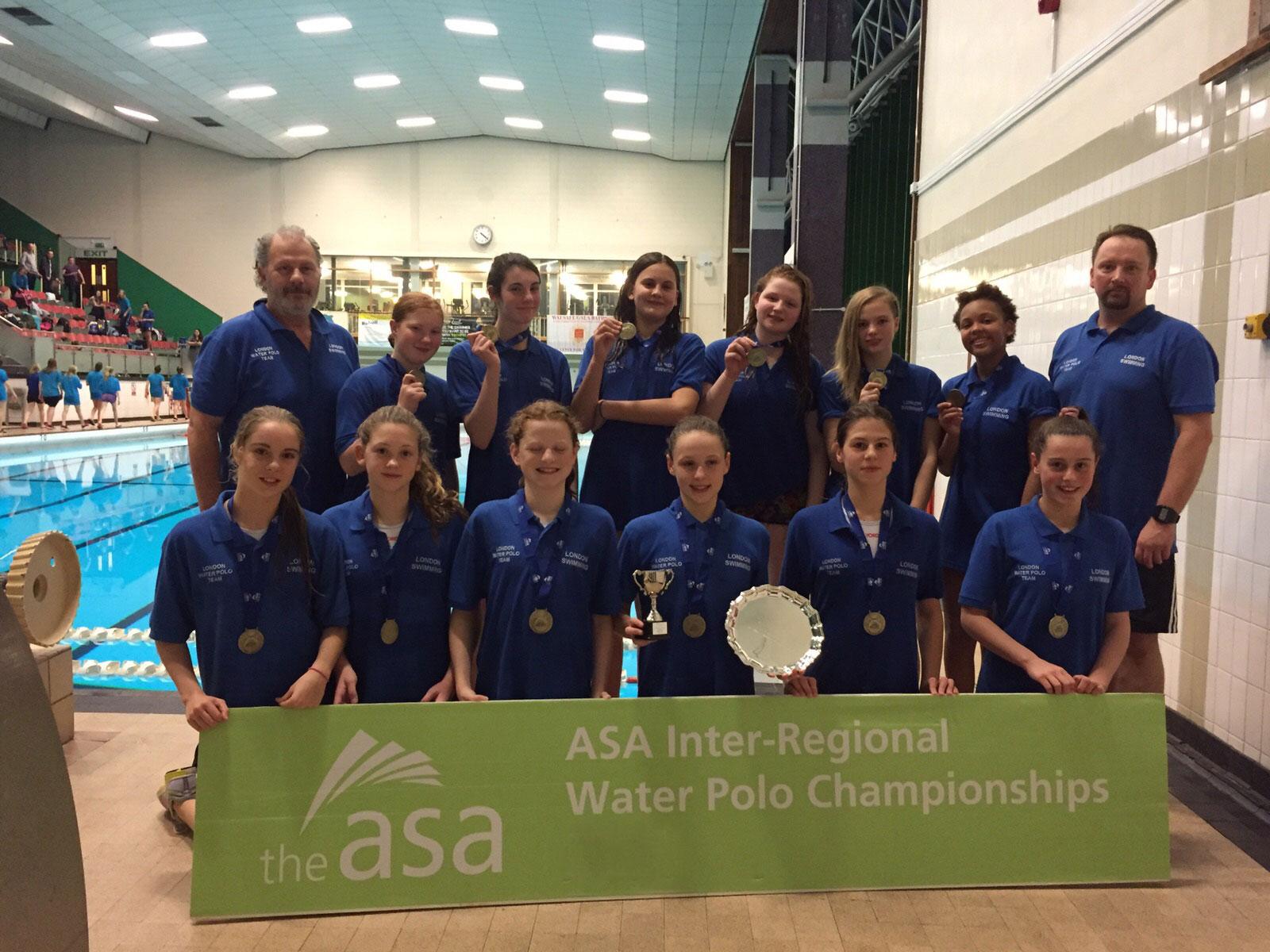 London Region win U14 Inter Regional title