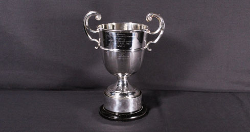 Ray Clash Trophy. ASA Trophy cabinet