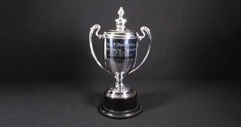 S R Drinkwater Memorial Trophy. ASA trophy cabinet
