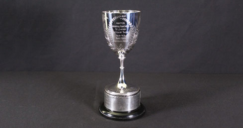 St James's Centenary Trophy. ASA trophy cabinet