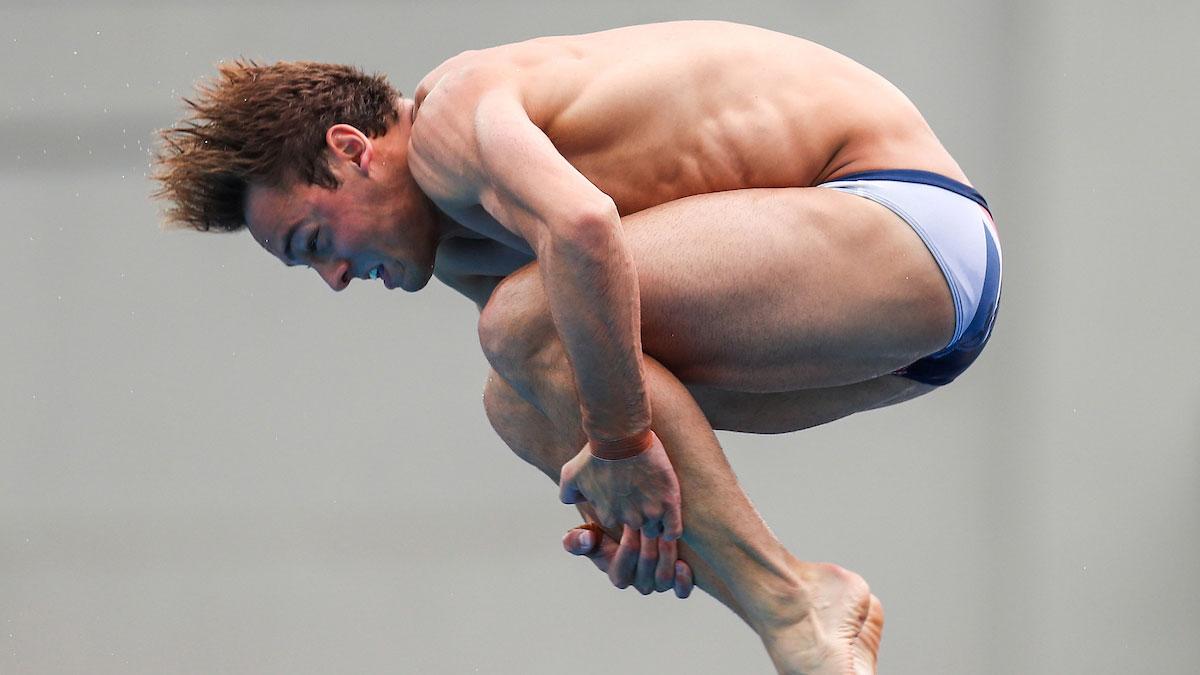Tom Daley wins World Series platform bronze in Windsor