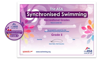 ASA Synchronised Swimming Awards