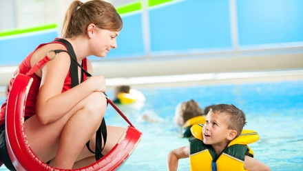 Becoming a lifeguard in the UK