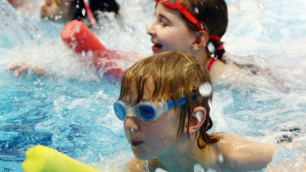 Building confidence in young swimmers