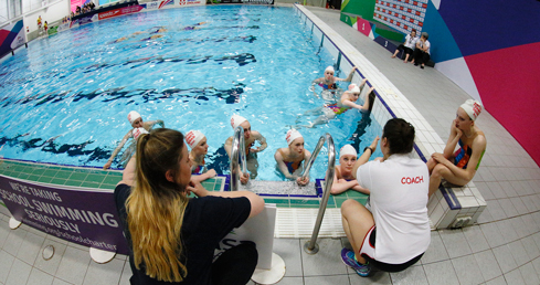 Synchronised swimming coaching. ASA synchro coach pass application form