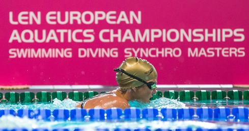 Image of Masters swimmer. Used for London 2016 Masters entries news story