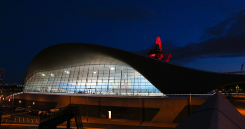 London Aquatics Centre gv. Tips for swimmers at their first international Masters competition.