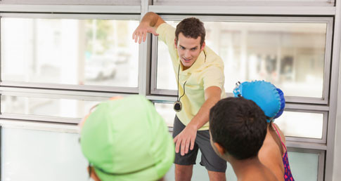 An educator teaches children. Educator mentoring can help an educators personal development.