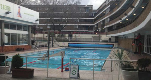 Oasis lido at Covent Garden. Sharon Lock has visited while completing swim training sessions.