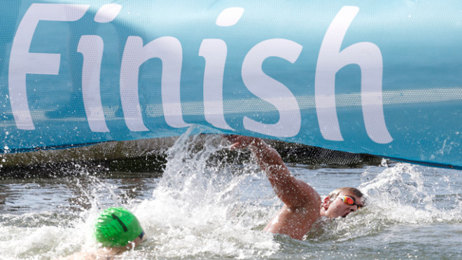 Accessing open water swimming results