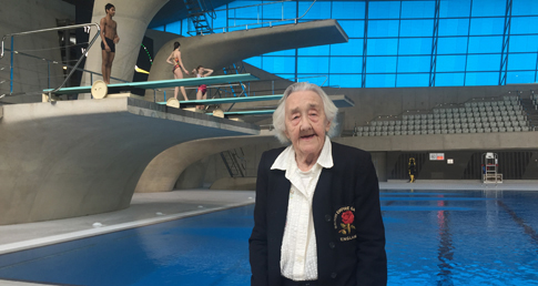 Edna Child revisits the 1938 European Champs