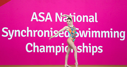 Photo of Olivia Federici at Senior Nationals. Used for story Rushmoor win Free Combination gold