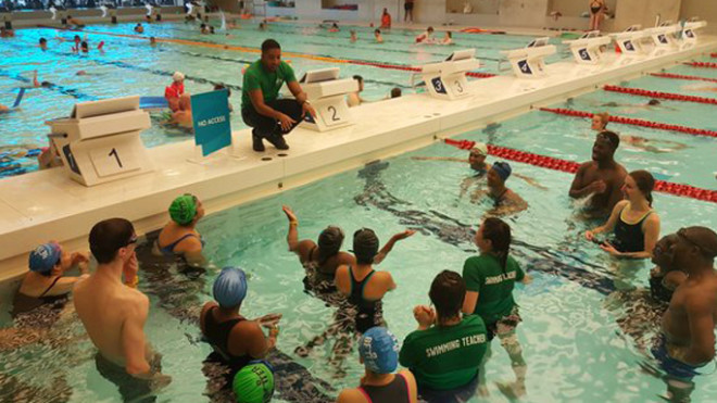 Dolly Garland's Swim London 2016 blog