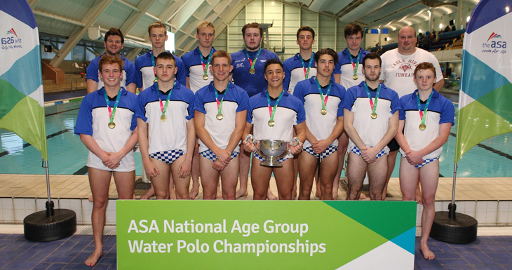 Exeter Win the ASA National Age Group Water Polo Boys' U19 Title