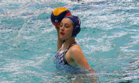 Katy Cutler scored four for Exeter in the Girls' U17 final.