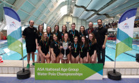 City of Manchester win the Girls' U17 ASA NAG Water Polo title for the first time since 2013.