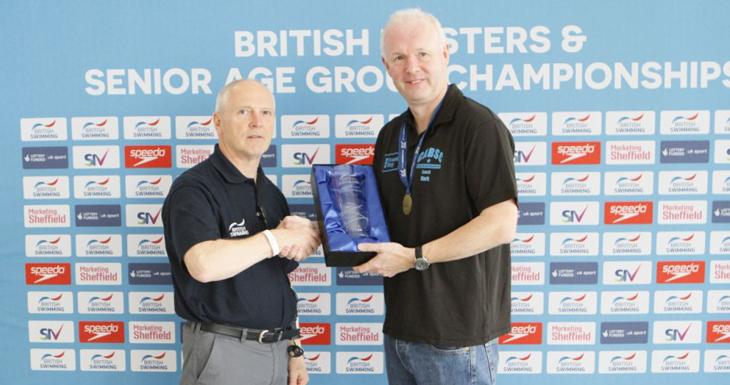 Mark Patterson wins Masters Cherriman Award 2015