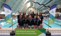 Rotherham Metro with their Girls' U17 bronze medals.