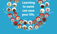Learning to swim can save your life image for Big School Swim 2016.