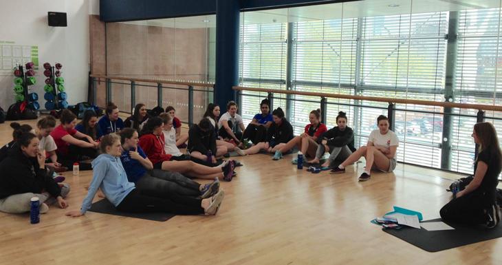 Kathy and Hannah's U19s training camp blog