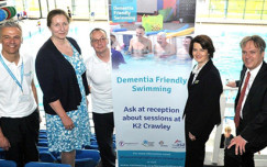 Crawley Dementia Friendly Swimming launch