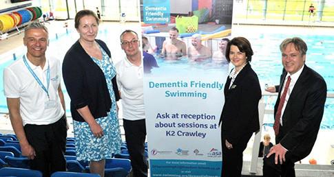 Crawley Dementia Friendly Swimming