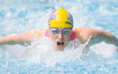 British women win medals across 12 age groups on opening day in London