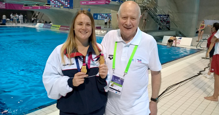 More Masters diving success on day three of London 2016
