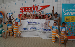 Kids make a splash in Nottingham Big School Swim