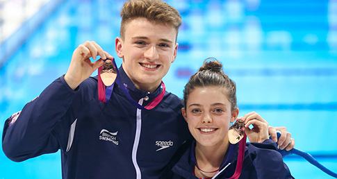 English divers secure European team bronze