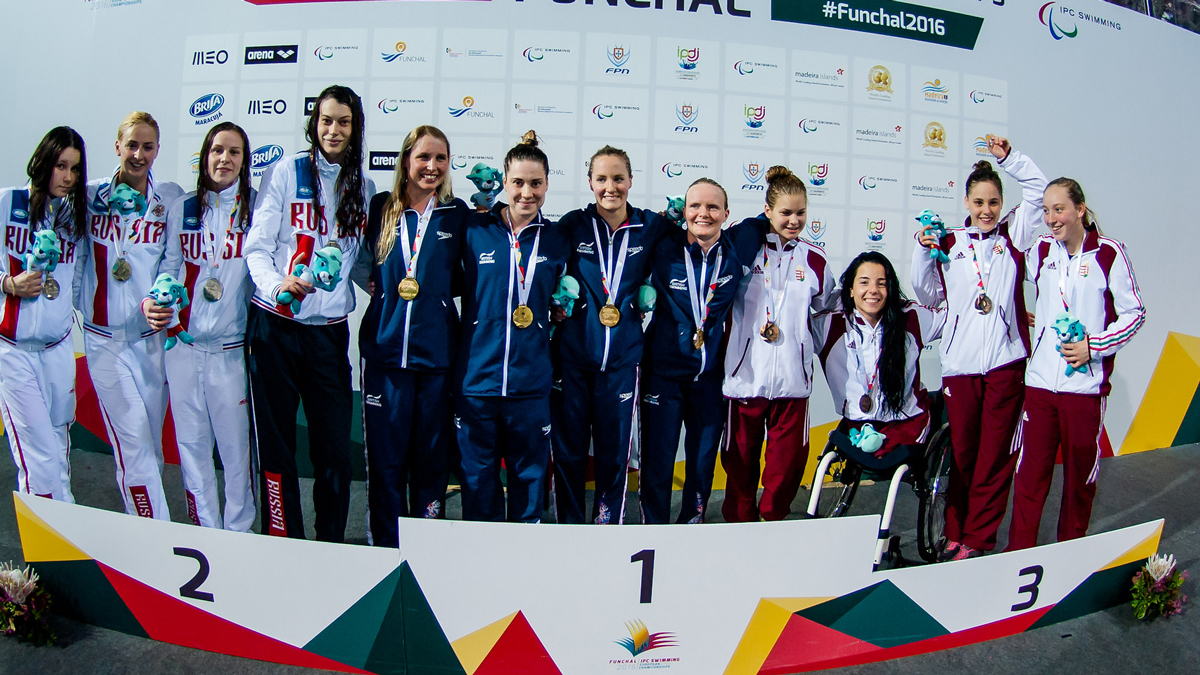 English add four golds to British tally in Portugal
