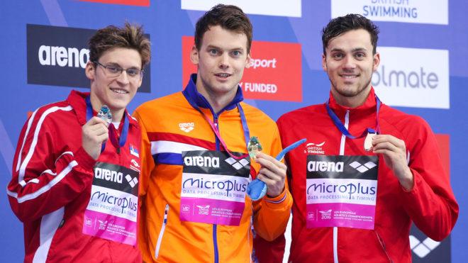 James Guy wins European bronze in London