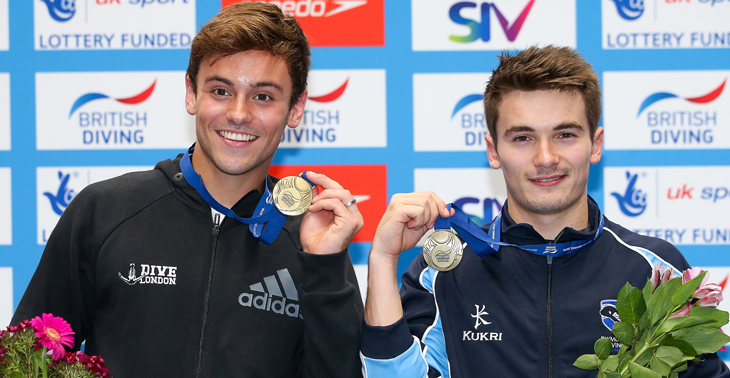 Daley and Goodfellow win 10m Synchro gold at British Champs