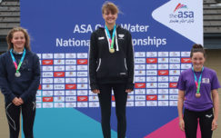 Griffiths dominates girls 3km age group race