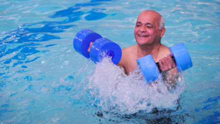 Swimming is one of the best exercises for arthritis