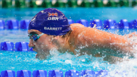 Adam Barrett joins 48 second club for 100m Free