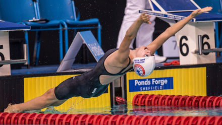Anna Maine lands 50m Backstroke gold at Ponds Forge