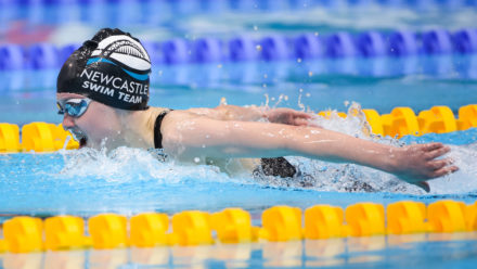Emily Large lands third Summer Champs gold in favourite 200m Fly