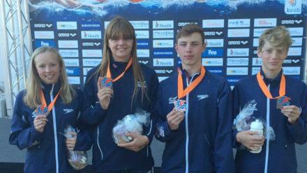 British team land relay bronze on final day of World Juniors