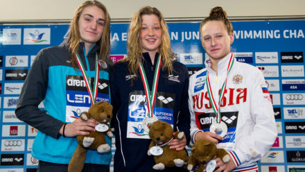 Taz Pugh seals first junior international title in Hungary